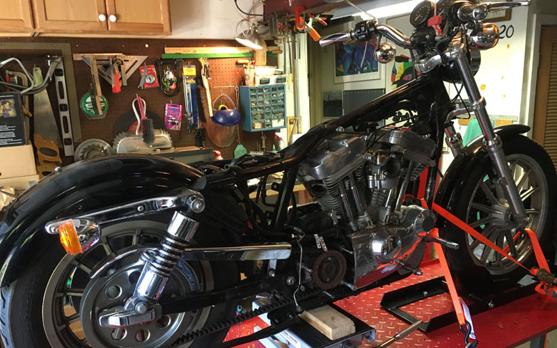 Sportster Teardown Continues