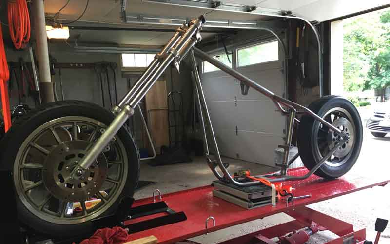 Chopper Rolling Chassis